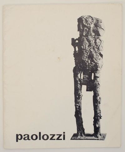 London: Hanover Gallery, 1958. First edition. Softcover. Exhibition catalog for a show that ran Nove...