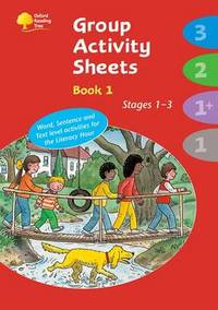 image of Oxford Reading Tree: Stages 1 - 3: Book 1: Group Activity Sheets