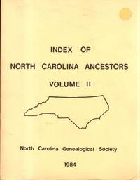Raleigh: North Carolina Genealogical Society, 1981. Paperback. Very Good. 257pp. Includes a page of ...