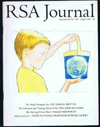 RSA Journal No. 5409 August 1990: The Journal of the Royal Society for the Encouragement of Arts,...