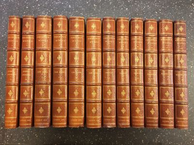 London: J. M. Dent & Co, 1893. Limited Edition, #228/250. Hardcover. Octavos, 12 volumes; VG; bound ...