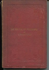 Reflections Historical and Critical on The Revival of Philosophy. by  C. M Ingleby - Hardcover - 1870. - from The Good Times Bookshop (SKU: 15480)