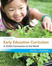 image of Early Education Curriculum : A Child's Connection to the World