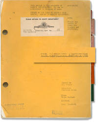 image of [The] Plymouth Adventure (Original screenplay for the 1952 film)