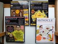 image of Monocle: a briefing on global affairs, business, culture & design volume 9  issue no. 90, volume 10 issue nos. 91 & 92 (February, March & April 2016)  plus Monocle drinking and dining directory issue 2 (Spring/Summer 2019) (4  magazines)