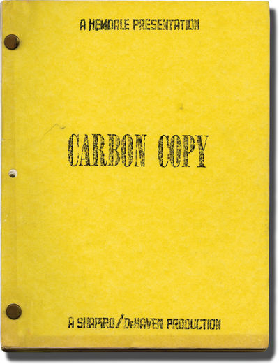 Moore Park, Australia: First City / Embassy Pictures, 1981. Revised Draft script for the 1981 film. ...