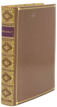 Macaulay's Two Essays on the Earl of Chatham