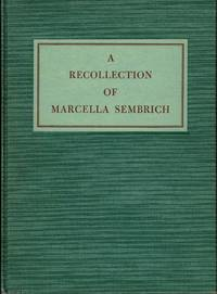 A Recollection of Macella Sembrich