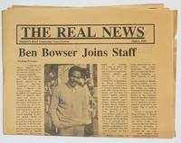 image of The Real News: Stanford's Black community news journal. Winter 1987