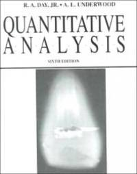 Quantitative Analysis (6th Edition)