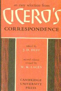 image of An Easy Selection From Cicero's Correspondence