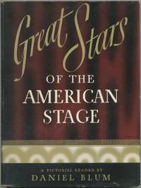 image of Great Stars of the American Stage: A Pictorial Record