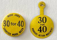 image of [Two pins calling for 30 hours work, 40 hours pay]
