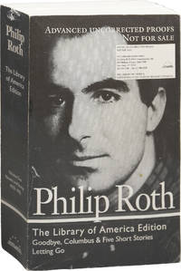 image of Philip Roth: Novels and Stories 1959-1962: Goodbye, Columbus and Five Short Stories / Letting Go (Uncorrected Proof)