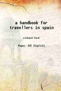 image of a handbook for travellers in spain [Hardcover]