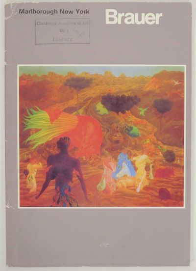 New York: Marlborough Gallery, 1971. First edition. Softcover. 46 pages. Exhibition catalog for a sh...
