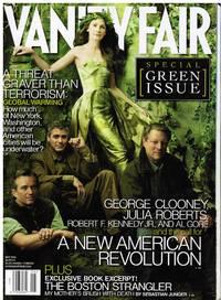 image of VANITY FAIR: THE GREEN ISSUE. JULIA ROBERTS, GEORGE CLOONEY, RFK JR, AL GORE
