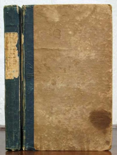 New York: Harper & Brothers, 1839. 1st US edition (American Imprints 56554; cf. Wolff 3517, for the ...