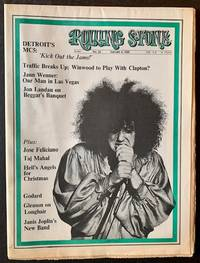 Rolling Stone (Issue #25, January 4th, 1969 -- The Rob Tyner {of MC5} Cover)