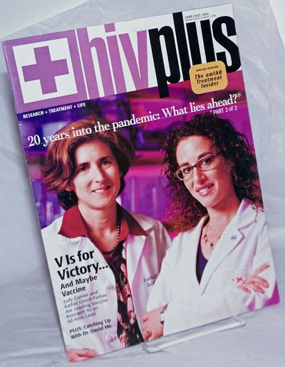 New York: Here Media, 2001. Magazine. 48p., 8x10.75 inches, articles, interviews, treatment reports,...