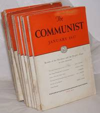 image of The Communist; a magazine of the theory and practice of Marxism-Leninism.  Vol. 16, [11 issues], 1937