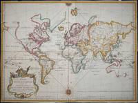Essay D'Une Carte Reduite Contenant Les Parties Conneuees Du Globe Terrestre Dedie a M. Le Comte De Maurepas