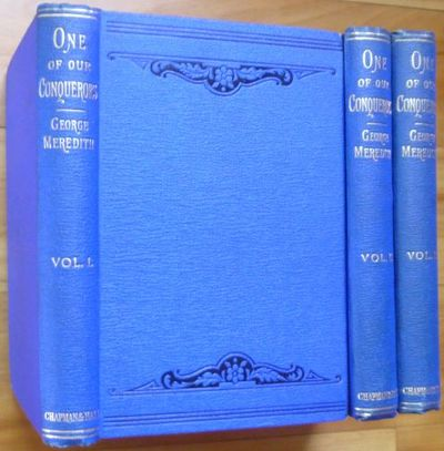 1891. London: Chapman and Hall, 1891. Original royal blue cloth decorated in black. First Edition of...