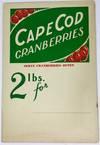[ADVERTISING] CAPE COD CRANBERRIES