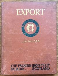 The Falkirk Iron Company, Export List No. 528