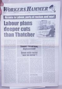 image of Workers Hammer: Newspaper of the Spartacist League[Britain] 2010, Spring, No. 210