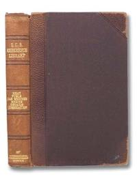 I.C.S. Reference Library. A Series of Textbooks Prepared for the Students of the International Correspondence Schools and Containing in Permanent Form the Instruction Papers, Examination Questions, and Keys Used in Their Various Courses