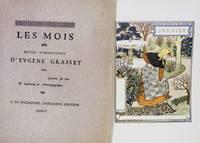 Les Mois Douze Compositions D'Eugene Grasset graves fur bois & imprimes en chromotypographie