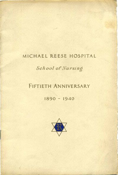 Chicago, IL: Michael Reese Hospital, 1940. Book. Very good condition. Paperback. First Edition. Octa...