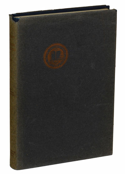 New Haven: Yale University Press, 1919. First Edition. Hardcover. Very Good. First edition. xii, 266...