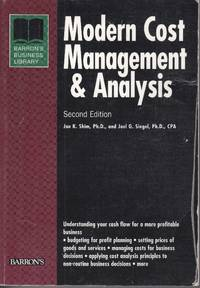 image of Modern Cost Management and Analysis