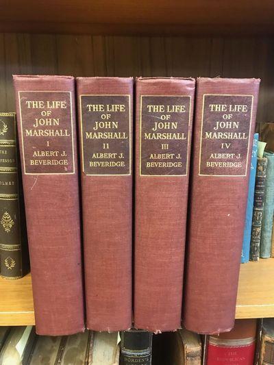 Boston, MA: Houghton Mifflin Company, 1916. First Edition. Hardcover. Octavo, 506, 593, 644, and 668...