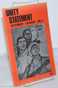 image of Statement of political unity of the October League (M-L)
