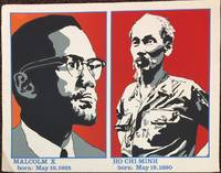 Malcolm X born: May 19, 1925: Ho Chi Minh born: May 19, 1890 [poster]