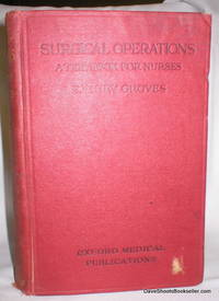Surgical Operations; A Textbook for Nurses