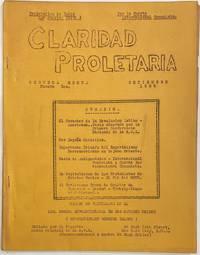 image of Claridad Proletaria. Segunda época, numero dos (Sept. 1936)