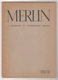 Merlin, Volume 1, Number 2 (Volume One, Number Two, Autumn 1952)