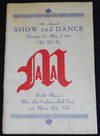 18th Annual Show and Dance -- Saturday Eve., May 5th, 1951 Club Del Rio [Manoa Athletic Association program]
