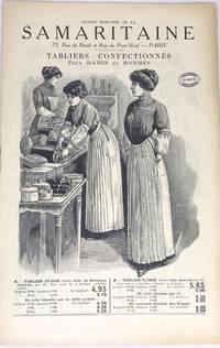 [FRENCH] [APRON CATALOG] Grand Magasins de la Samaritaine - Tabliers Confectionn s Pour Dames et Hommes