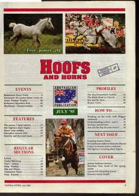 image of Hoofs and Horns Magazine July 1995