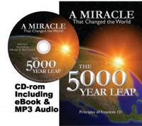 image of The 5000 Year Leap (Original Authorized Edition) [plus MP3 Audio-CD and eBook]