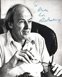 Roald Dahl Signed Photograph.