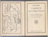Carmen and Other Stories by  Proper Merimee - Hardcover - 1919 - from Diatrope Books and Biblio.com