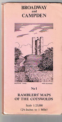 Rambler's Maps of The Cotswolds No. 1 Broadway and Campden by Anon - Paperback - 1082 - from Orangeberry Books (SKU: 15860)
