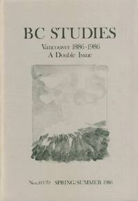 BC Studies, No. 69/70 , Spring/Summer 1986