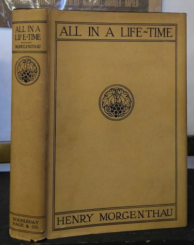 Garden City, New York: Doubleday, Page & Company, 1923. First Edition. Hardcover. Large octavo, 454 ...